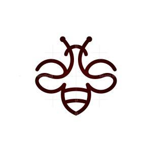 Coffee Bean Bee Logo