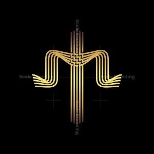 Cross With Shawl Logo