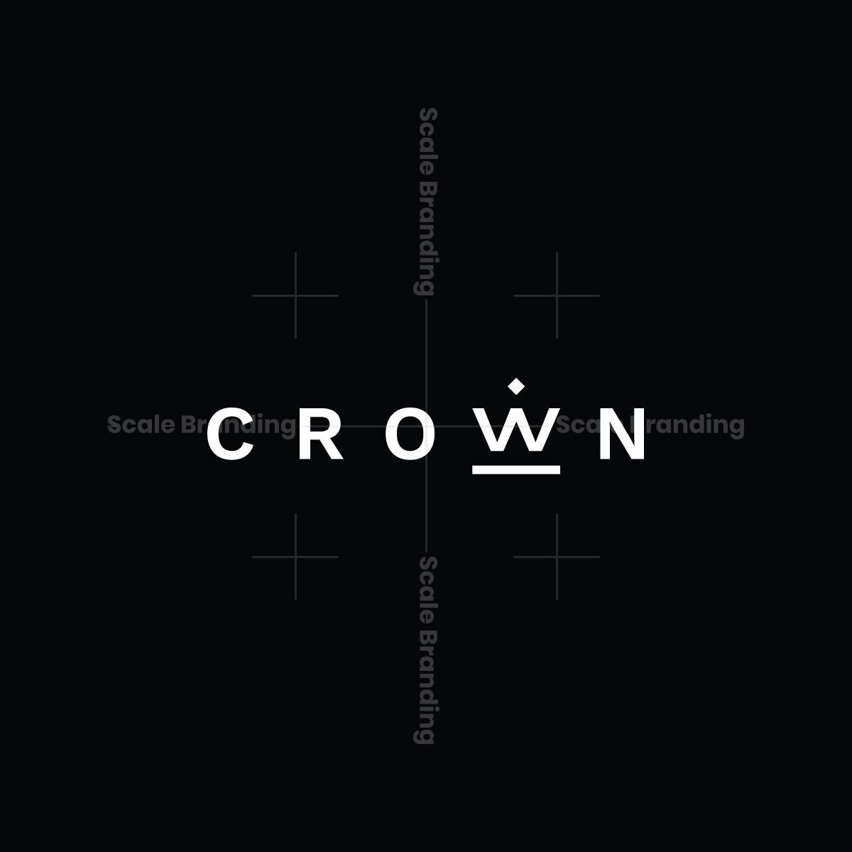 Crown Minimal Logotype
