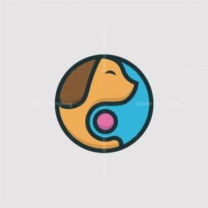 Dogs Play Ball Logo