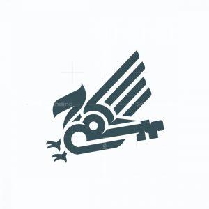Eagle Key Logo