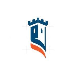 Castle Logo Fortress Logo