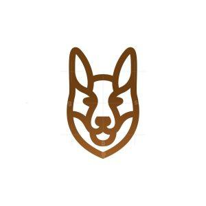 German Shepherd Head Logo