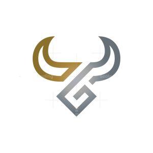 Gold Silver Bull Logo Taurus Logo