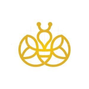 Flying Honey Bee Logo