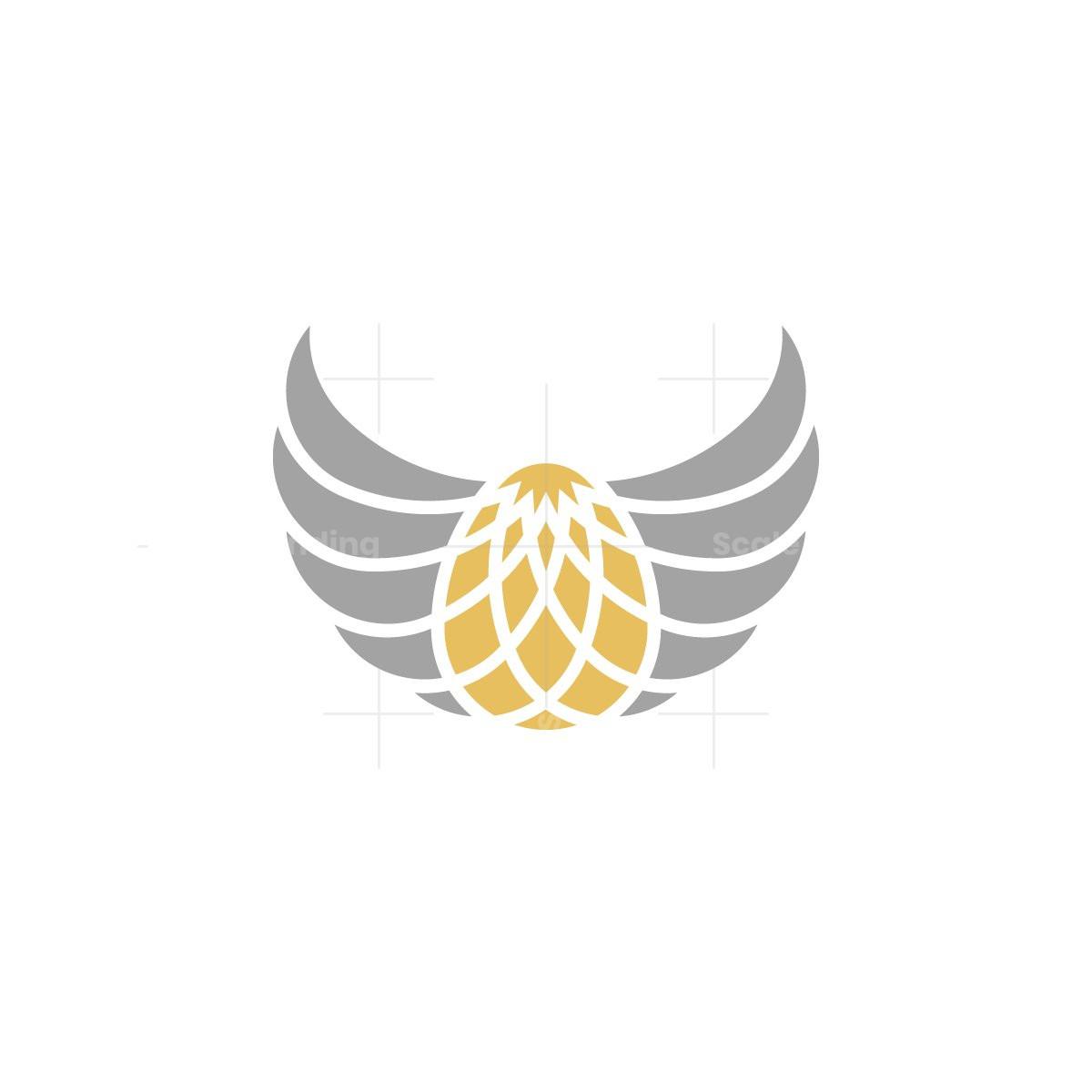 Golden Egg Wings Logo