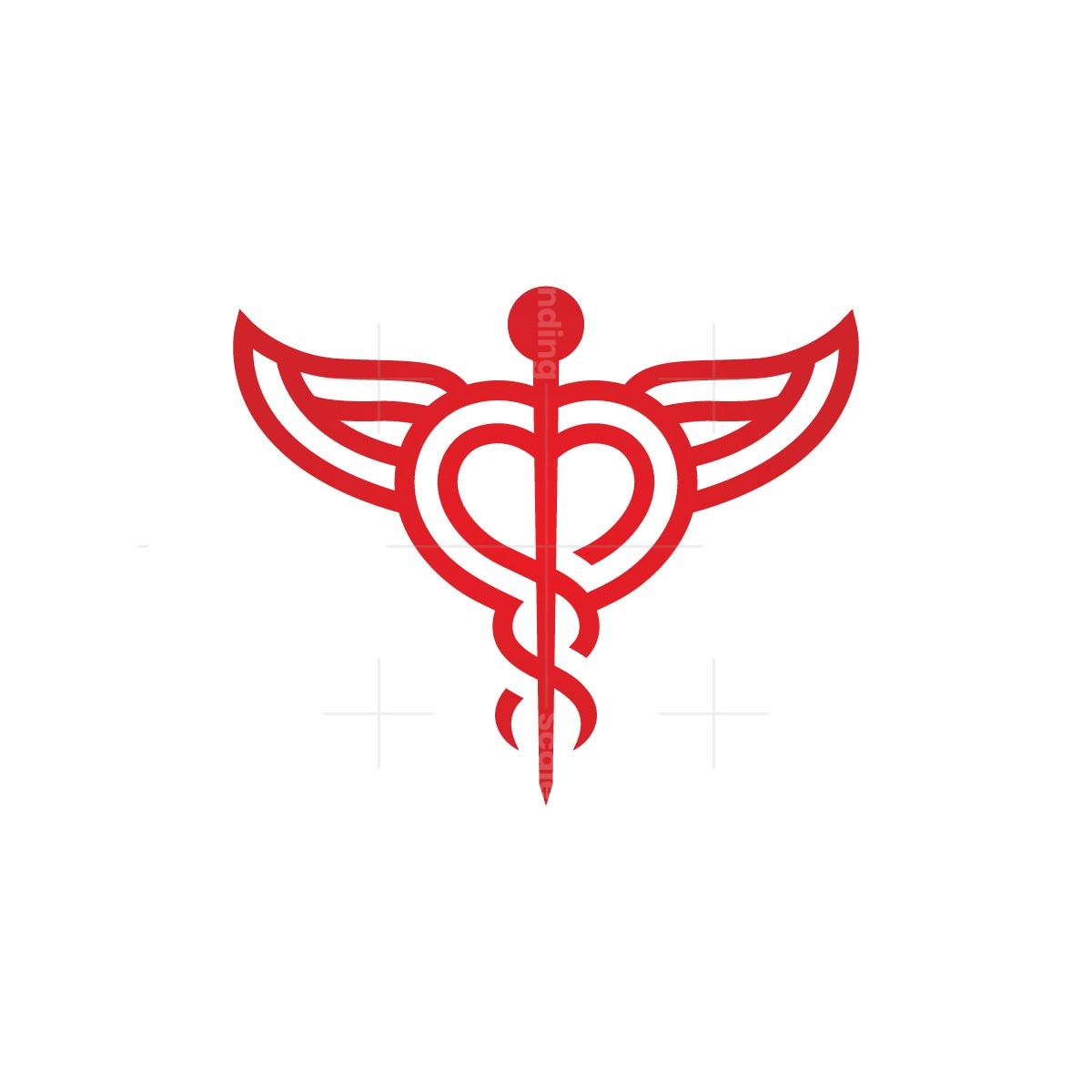 Healthcare Caduceus Logo
