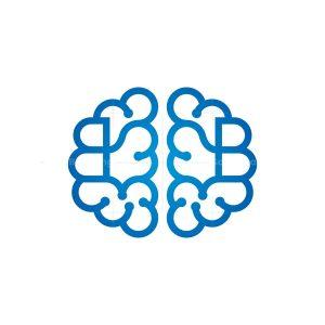 Letter B Brain Logo