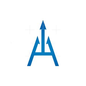 Blue Trident Logo