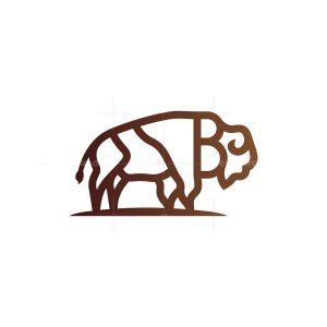 Bison Logo Buffalo Logo