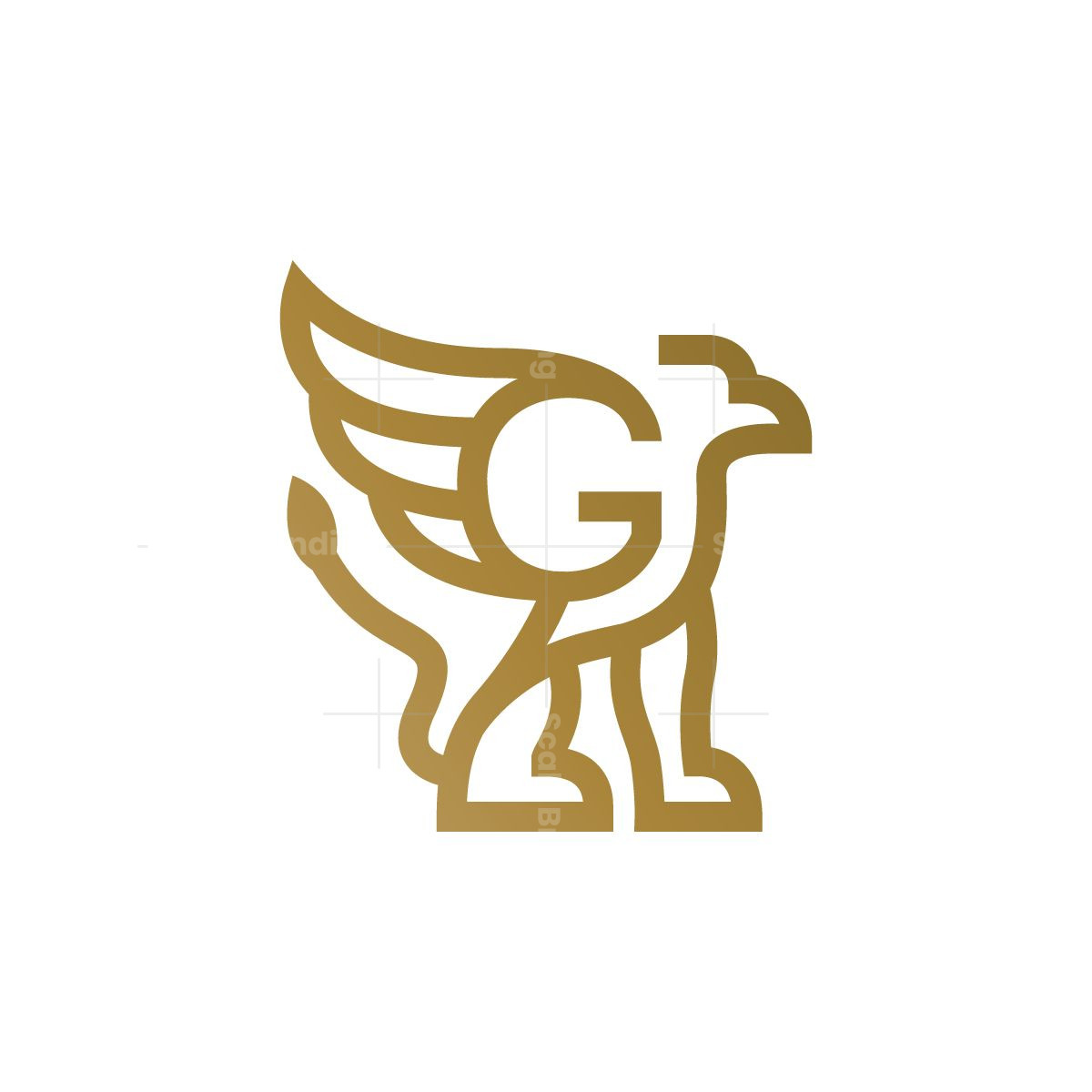 Letter G Griffin Logo