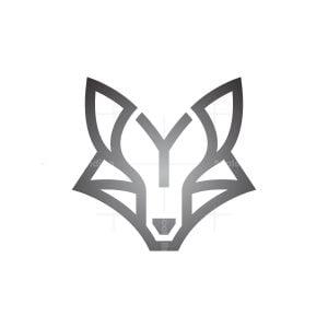 Letter Y Silver Fox Logo