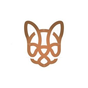 French Bulldog Logo