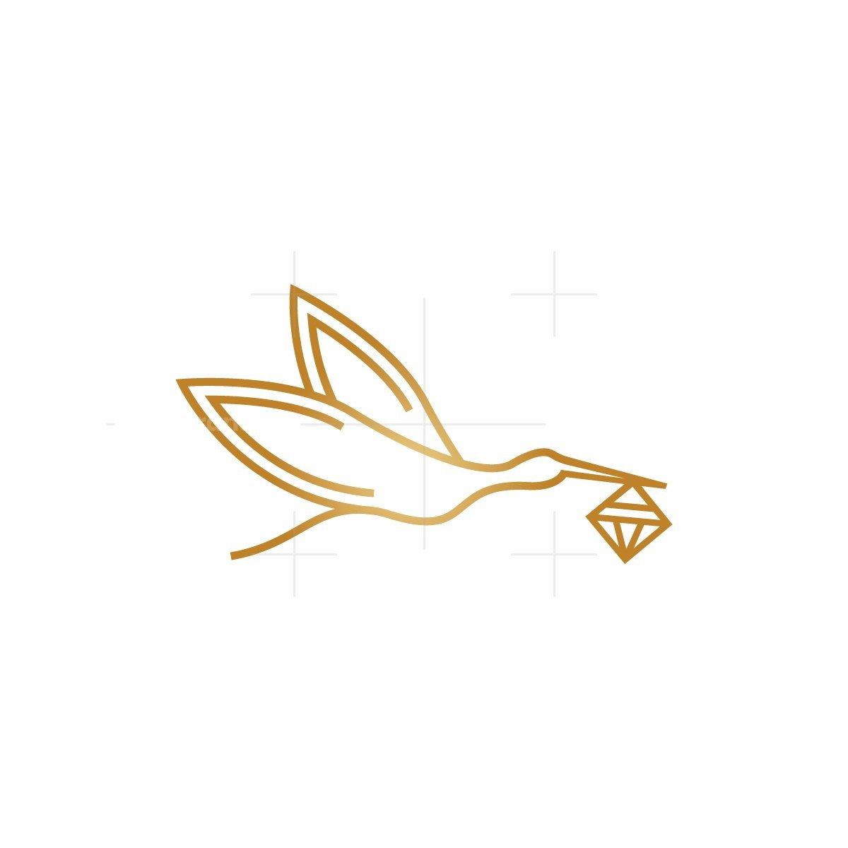 Luxury Stork Logo