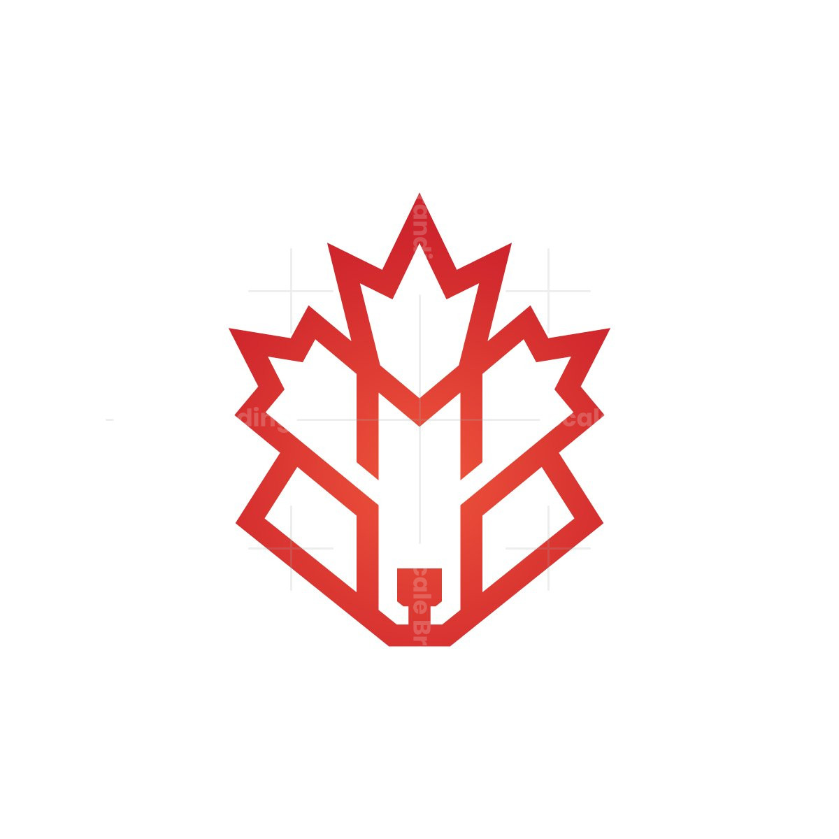 Maple Leaf Canada Fox Logo