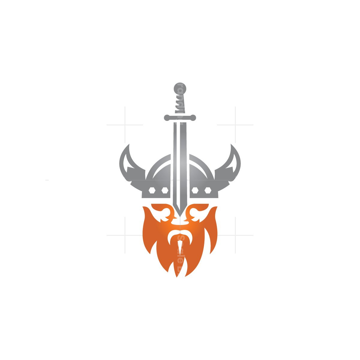 Sword Viking Logo