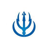 Zeus Lightning Trident Logo