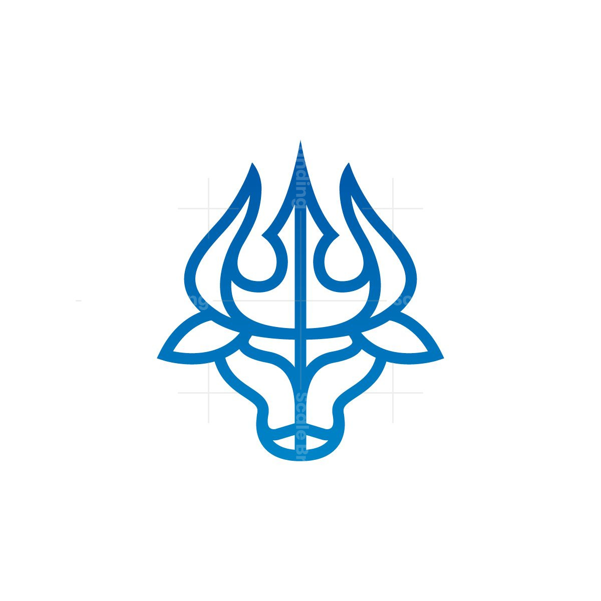 Poseidon Bull Logo