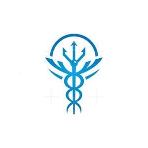 Ocean Medical Caduceus Logo