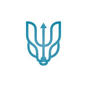 Neptune Wolf Logo Wolf Head Logo