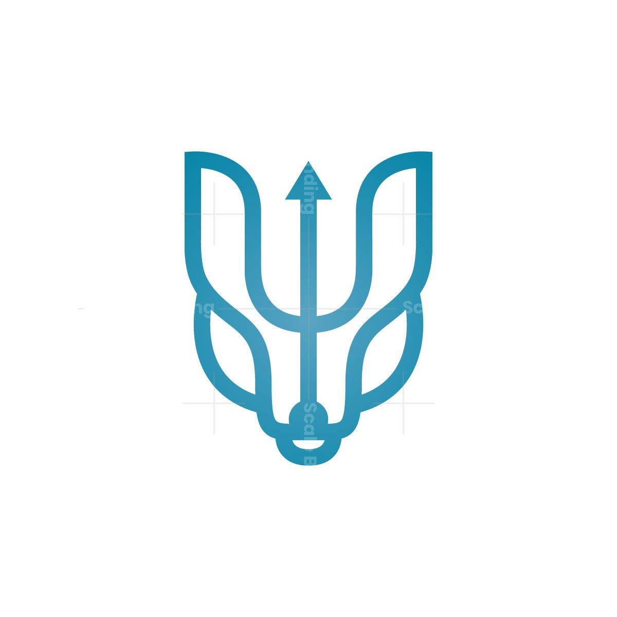 Neptune Wolf Logo