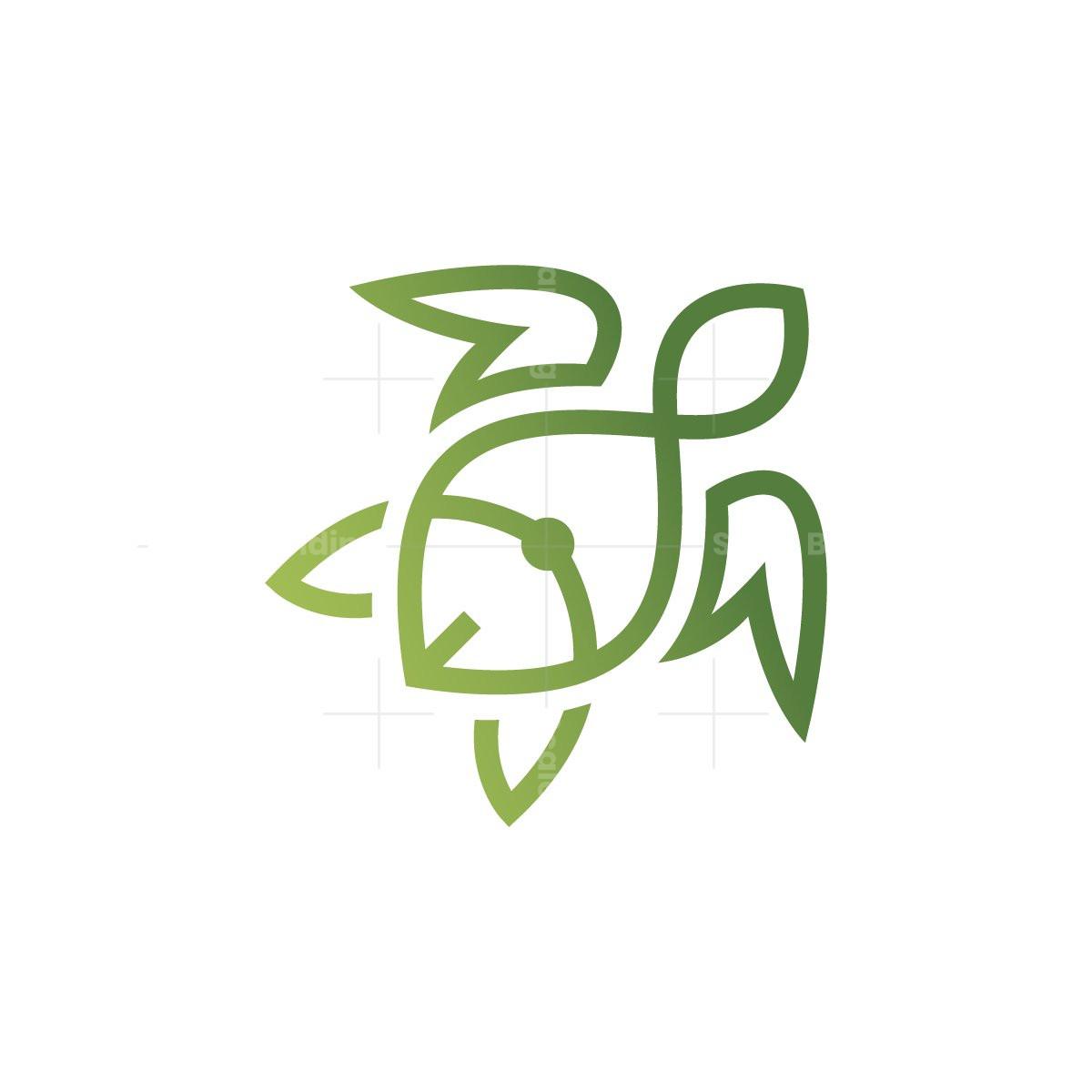 Turtle Fish Logo