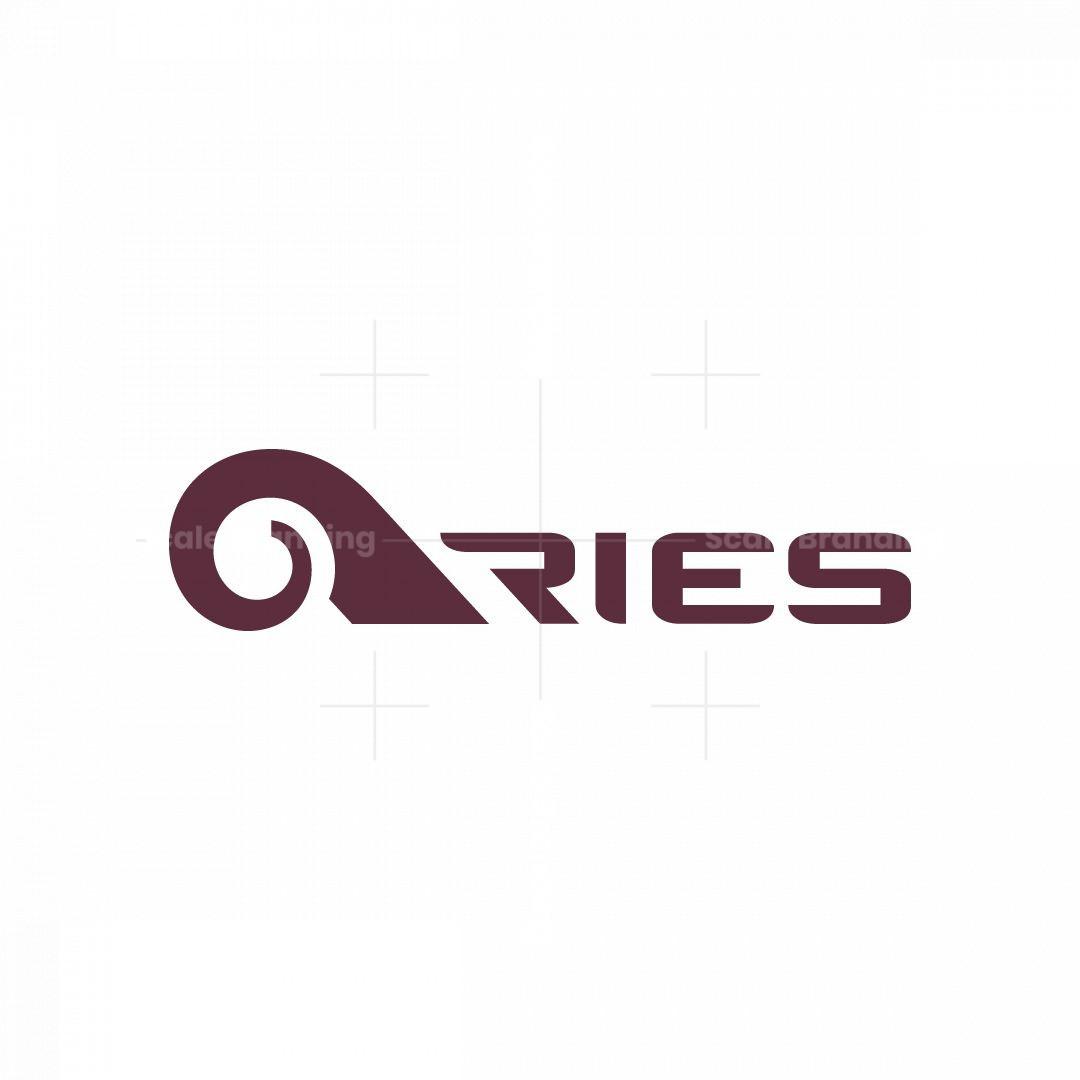 Aries Ram Goat Logo