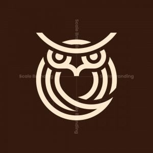 Circles Owl Logo