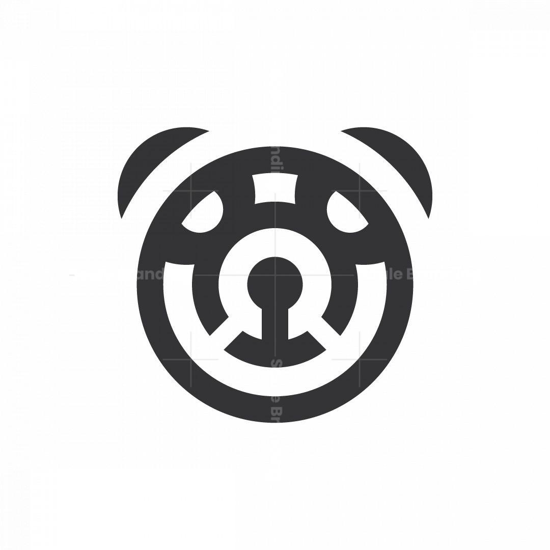 Circles Panda Logo