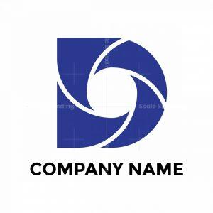 Custom D Letter Logo