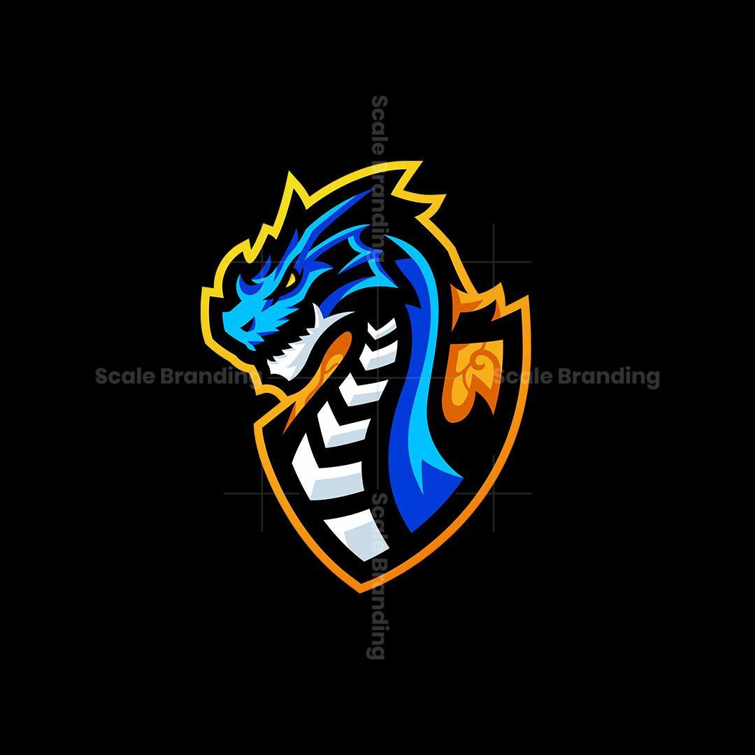Draco Mascot Logo