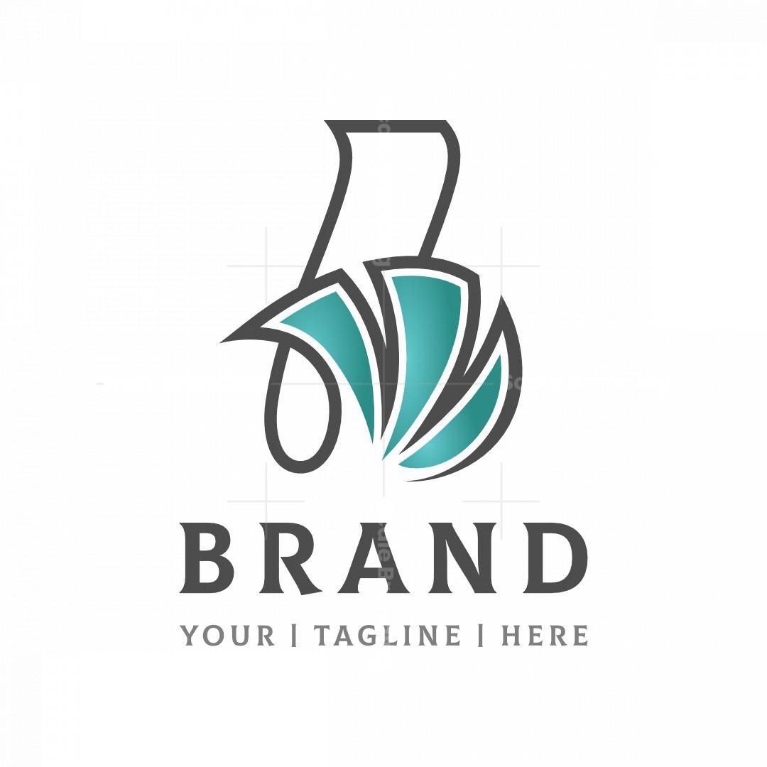 Dynamic Letter B Logo