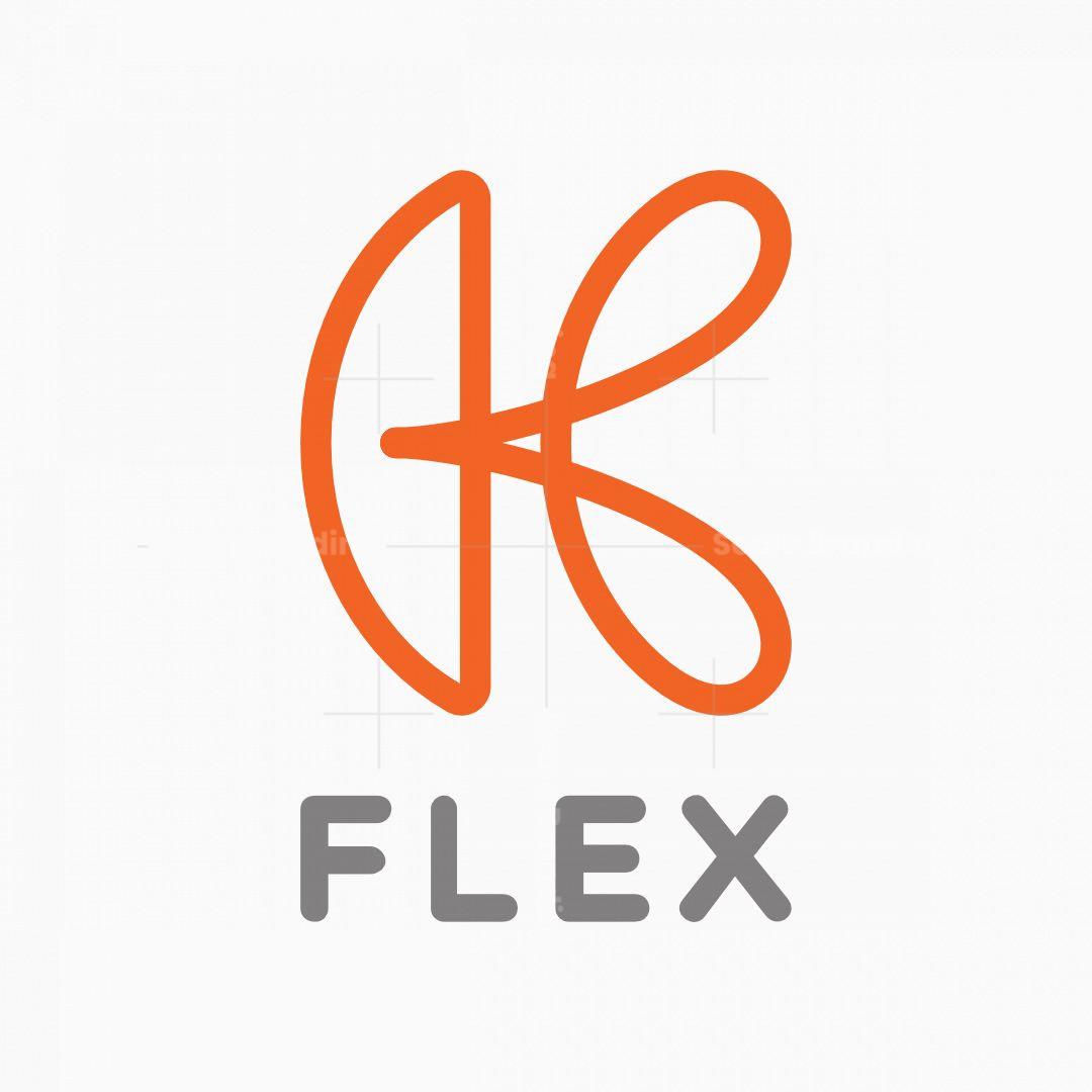 Dynamic Letter K Logo