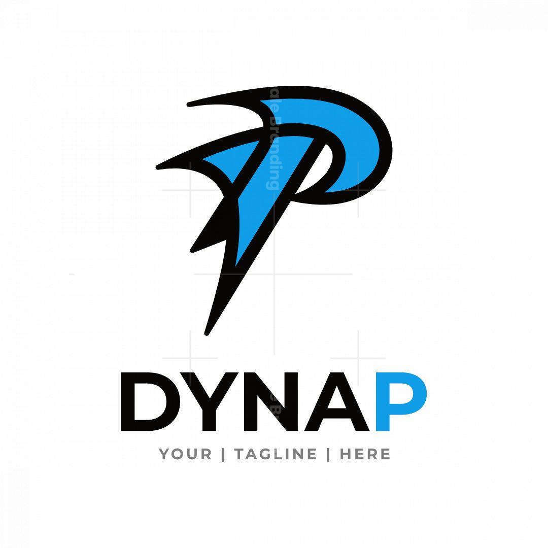 Dynamic Letter P Logo