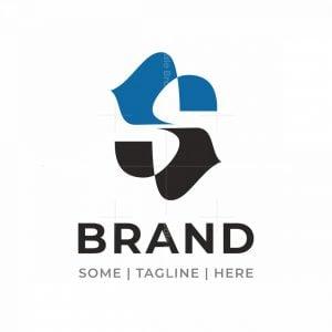 Dynamic Letter S Arrows Logo