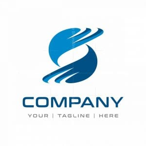 Dynamic Letter S Tech Logo