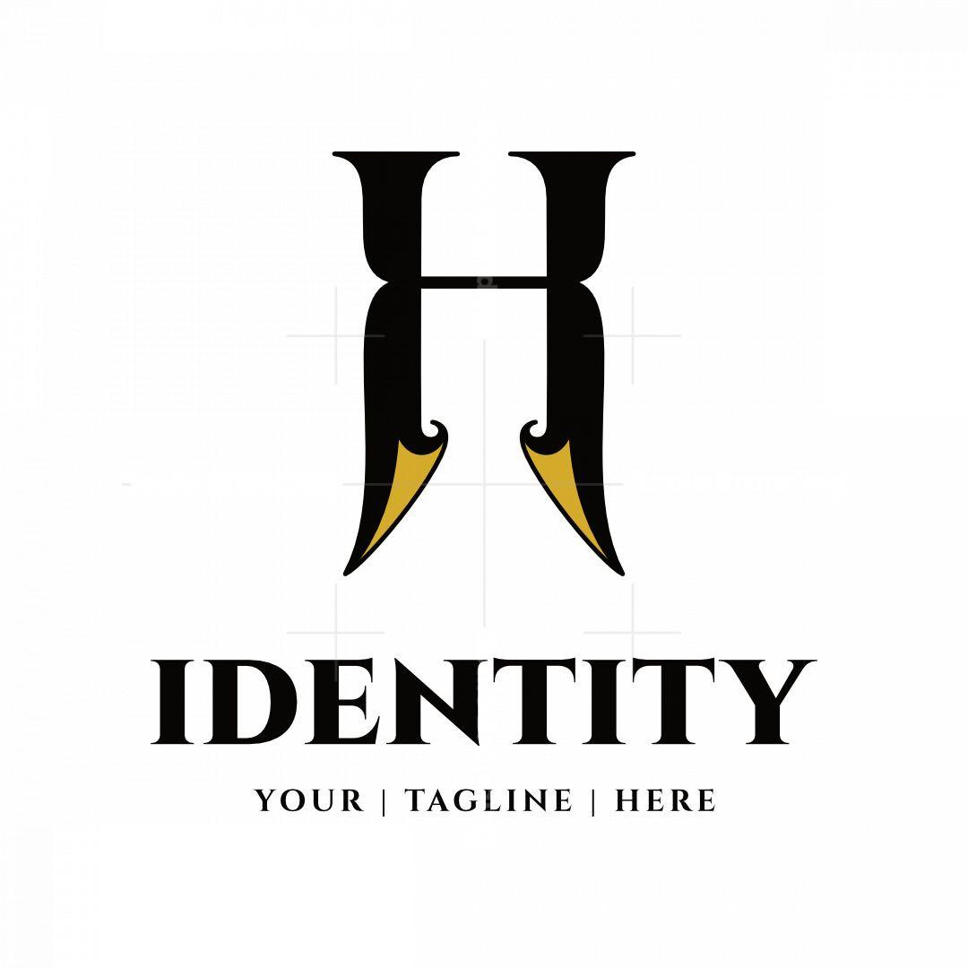 Stylized Elegant Letter H Logo