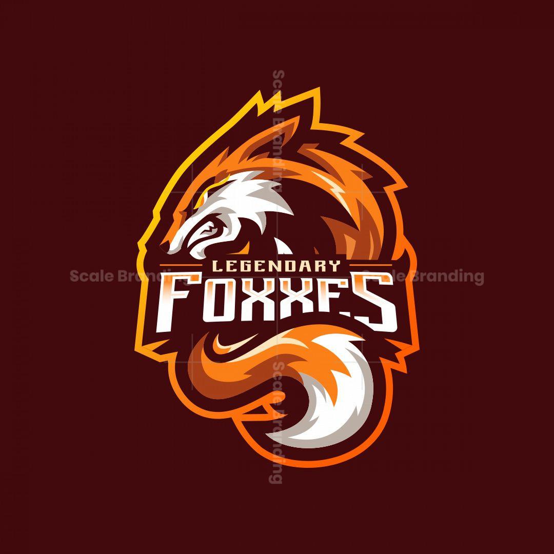 Legendary Foxxes Mascot Logo