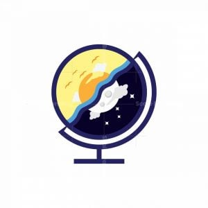 Globe Day And Night Logo