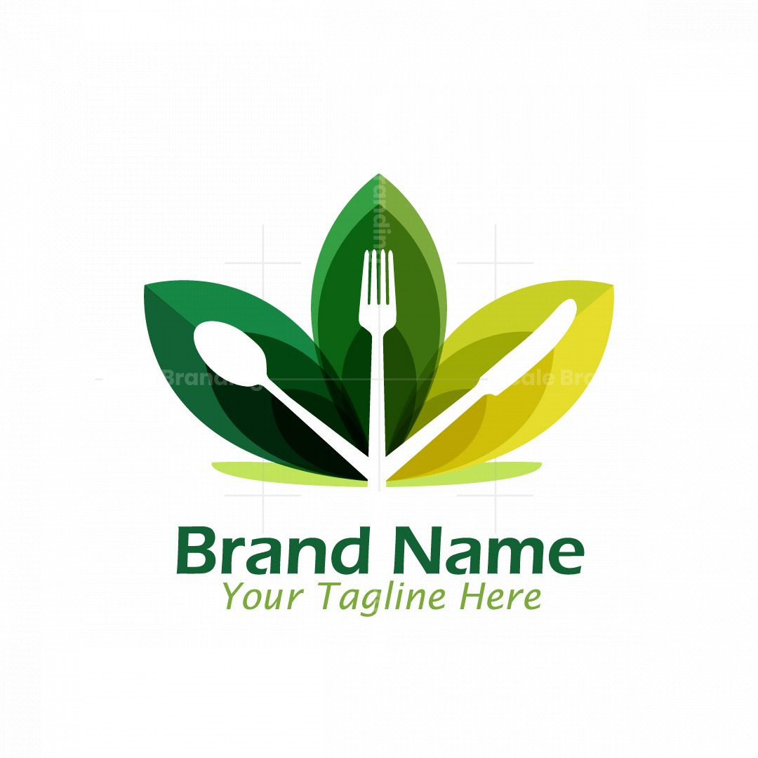 Healthy Food Restaurant Logo