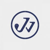 Letter Jw Logo Initial