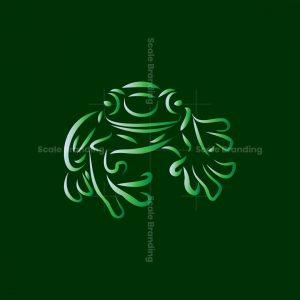 Line Art Amfibi Logo