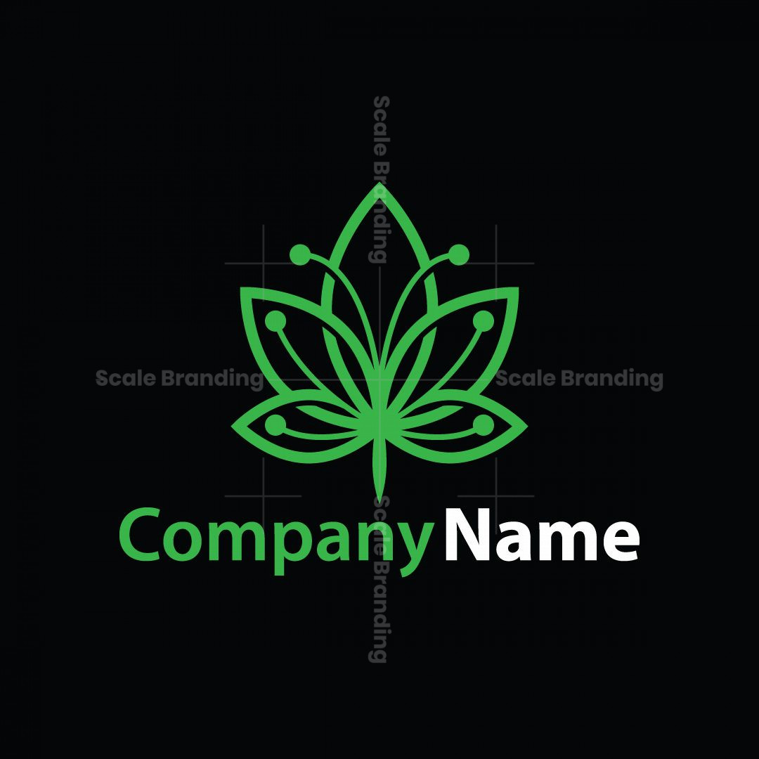 Cannabis Butterfly Logo