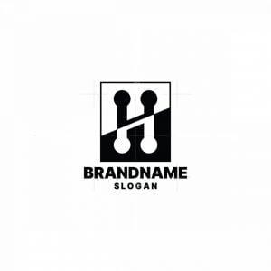 H Musical Note Logo