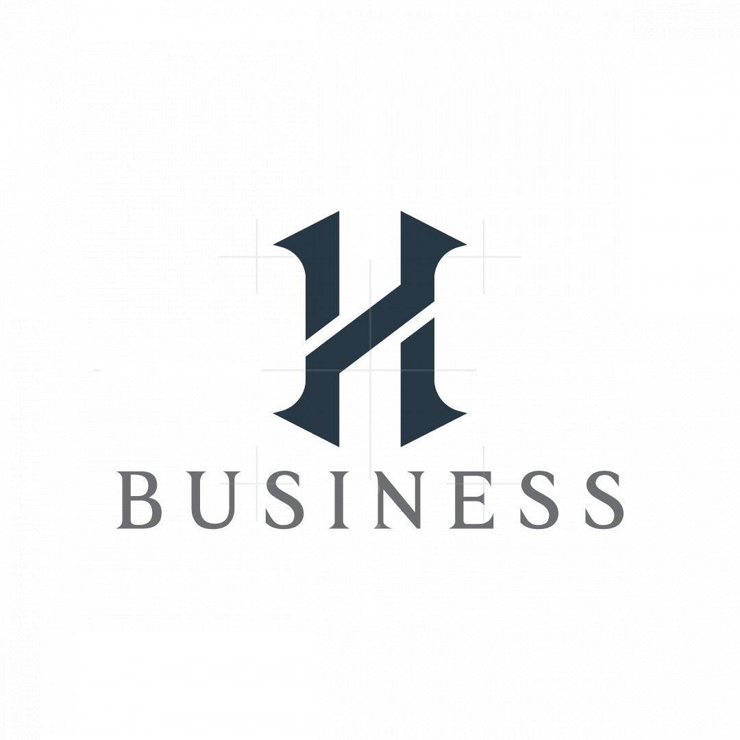Letter H Stylish Logo