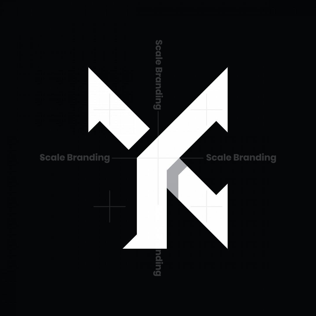 Yk Or Yc Monogram Logo