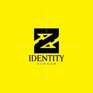 Letter Z Spear Logo