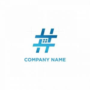 Hastag Home Logo