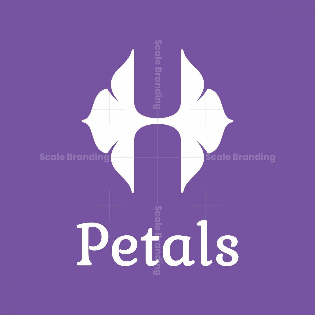 Letter H Petals Logo