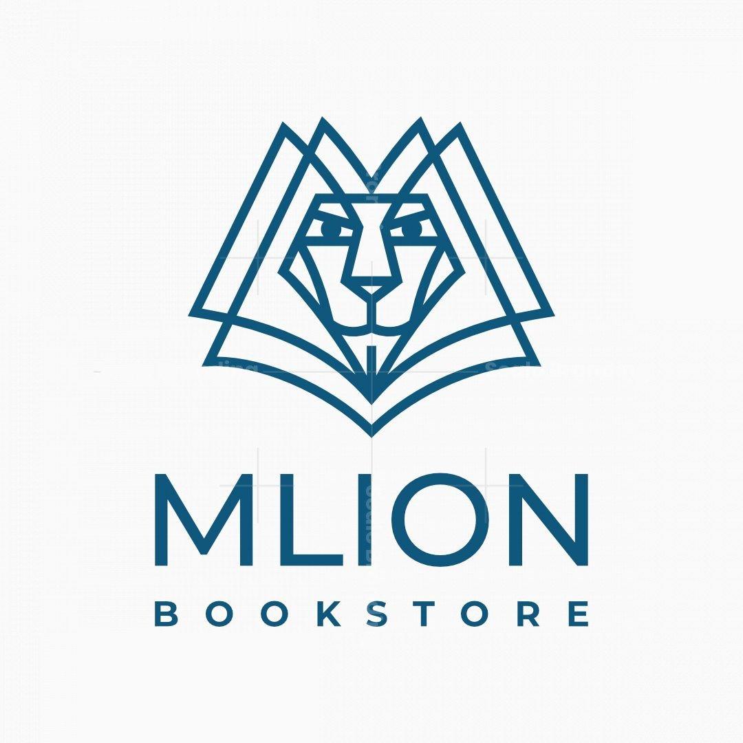 Letter M Lion Logo